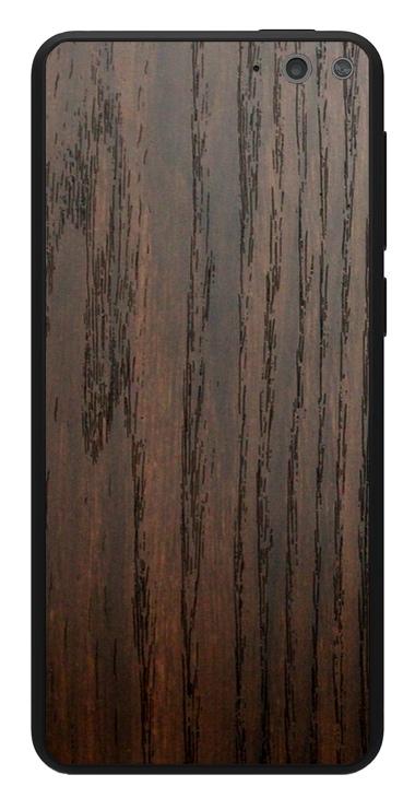 Amazon Fire Phone 3D Aufkleber / Sticker für Rückseite - Holz braun