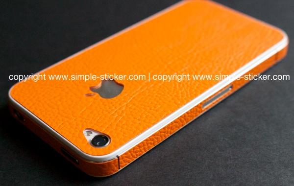 iPhone Aufkleber / Sticker 3D Struktur für iPhone 4/4S/5/5S - simple-sticker.com