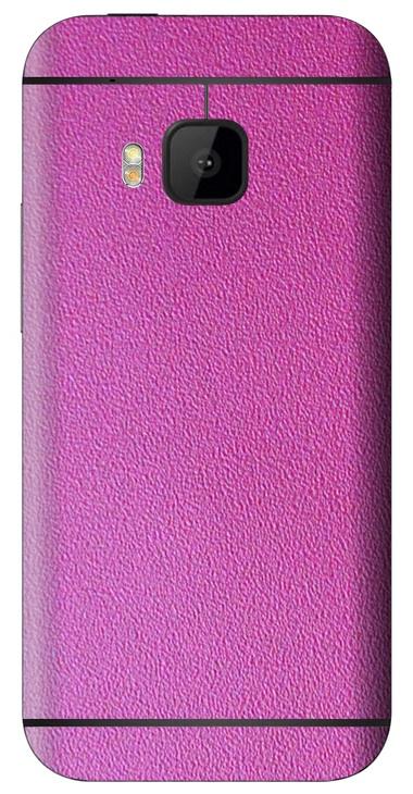 HTC One M9 3D Aufkleber / Sticker für Rückseite - Think Pink