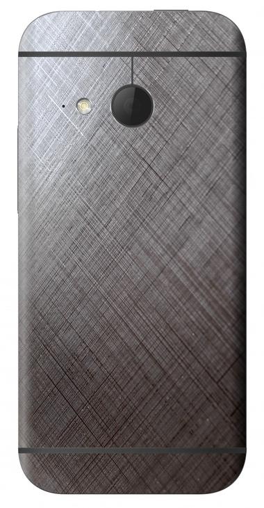 HTC One Mini 2 3D Aufkleber / Sticker für Rückseite - Schraffur