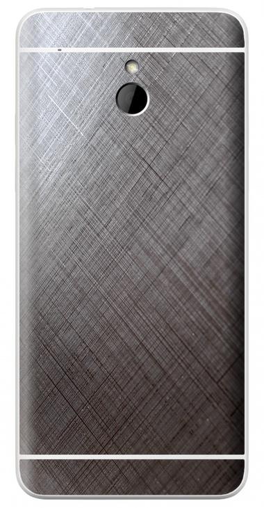 HTC One Mini 3D Aufkleber / Sticker für Rückseite - Schraffur