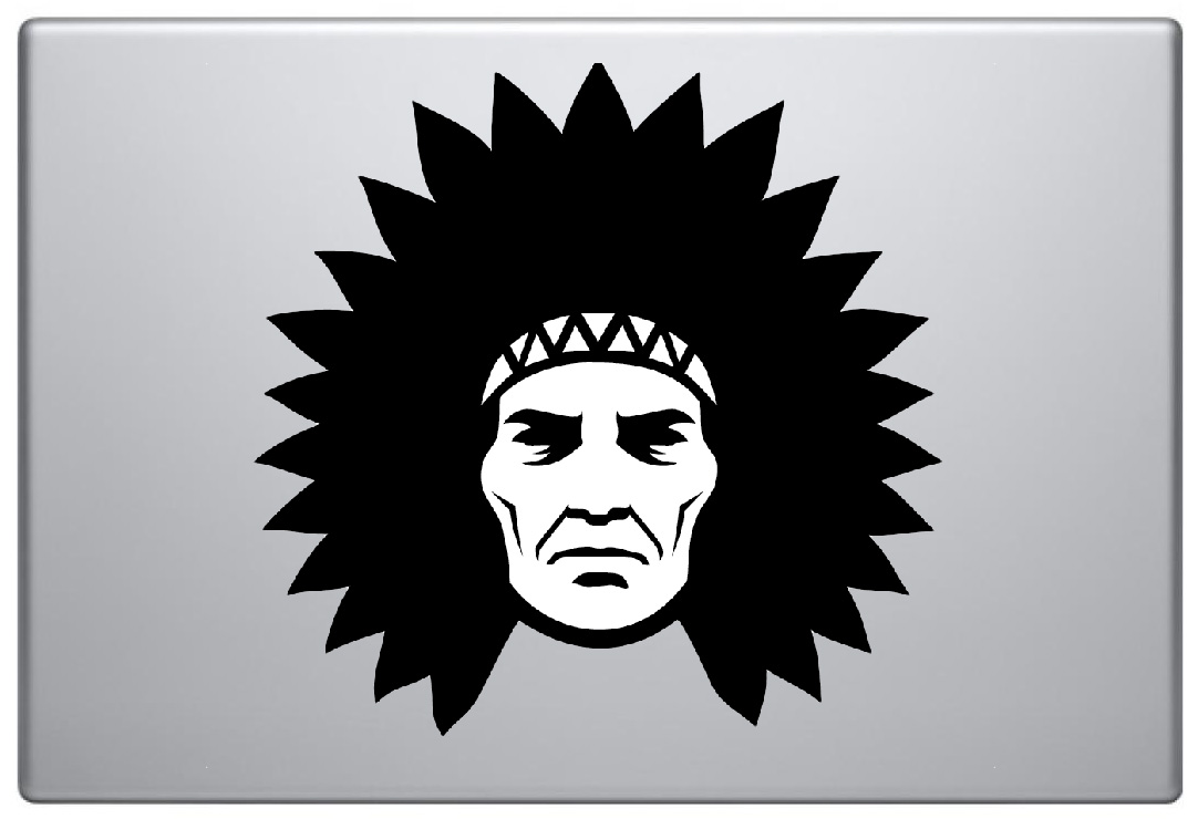 MacBook Aufkleber / Decal - Indian
