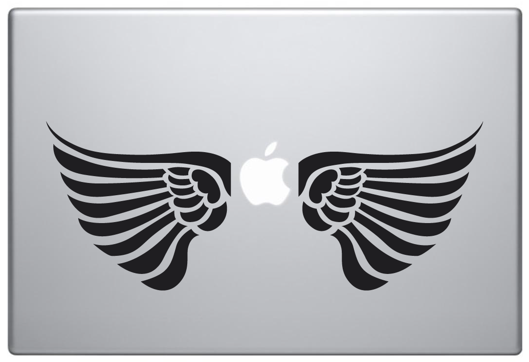 MacBook Aufkleber / Decal - Wings