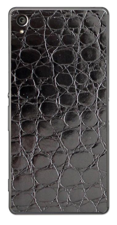 Sony Xperia Z1 3D Aufkleber / Sticker für Rückseite - Alligator Black - Sonderedition