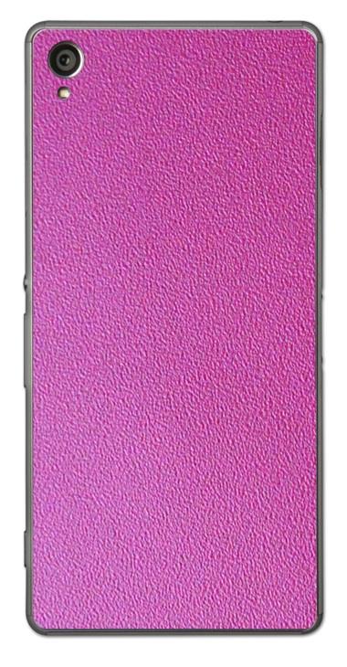 Sony Xperia Z1 3D Aufkleber / Sticker für Rückseite - Think Pink