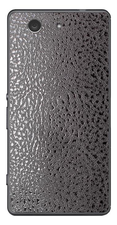 Sony Xperia Z3 Compact 3D Aufkleber / Sticker für Rückseite - Stealth