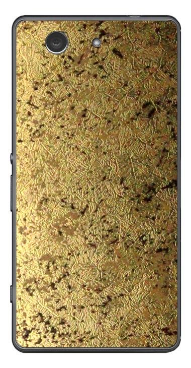 Sony Xperia Z3 Compact 3D Aufkleber / Sticker für Rückseite - Goldrausch