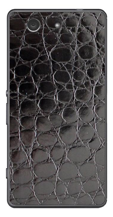 Sony Xperia Z3 Compact 3D Aufkleber / Sticker für Rückseite - Alligator Black - Sonderedition