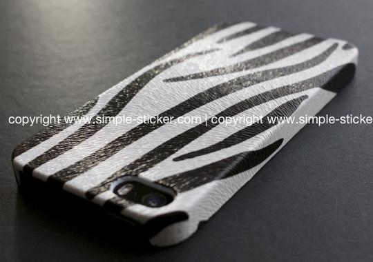 iPhone Schutzhülle / Case für iPhone 5/5S - Zebra