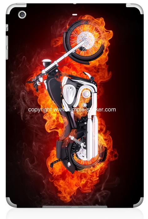 iPad mini Vollverklebung. Geeignet für iPad mini (Retina) Wi-Fi. - Ghost Bike