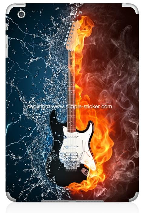 iPad mini Vollverklebung. Geeignet für iPad mini (Retina) Wi-Fi. - Guitar Power