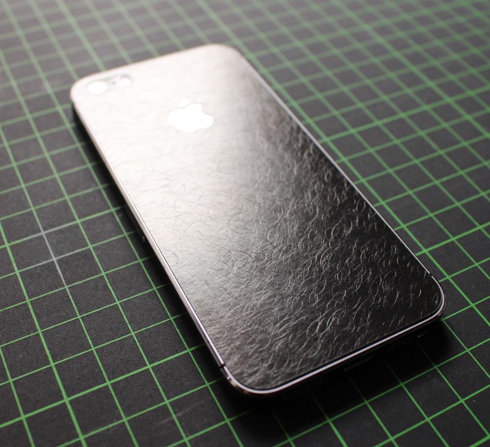 iPhone Aufkleber / Sticker 3D Struktur für iPhone 4/4S/5/5S - Der Hammer
