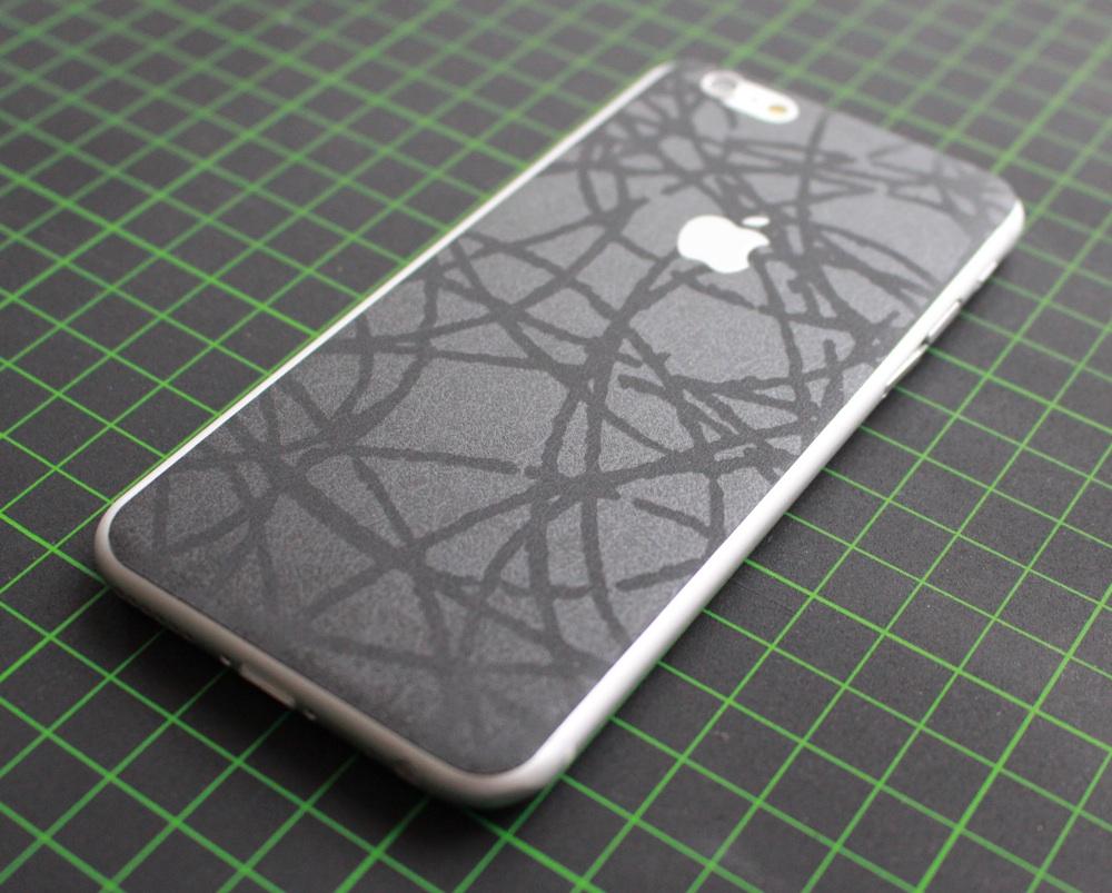 iPhone 6 / 6S / 6 Plus / 6S Plus Aufkleber / Sticker / Skin. 3D Aufkleber für die Rückseite. - Orient Smartphone