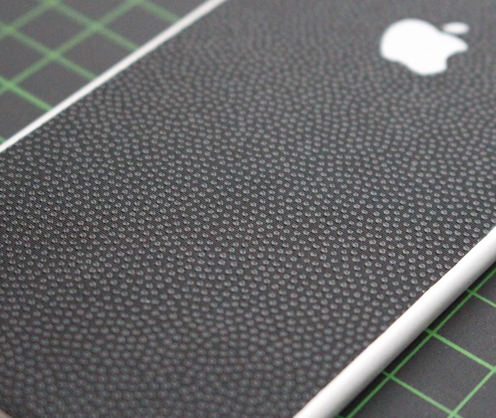 iPhone 6 / 6S / 6 Plus / 6S Plus Aufkleber / Sticker / Skin. 3D Aufkleber für die Rückseite. - Tropfen