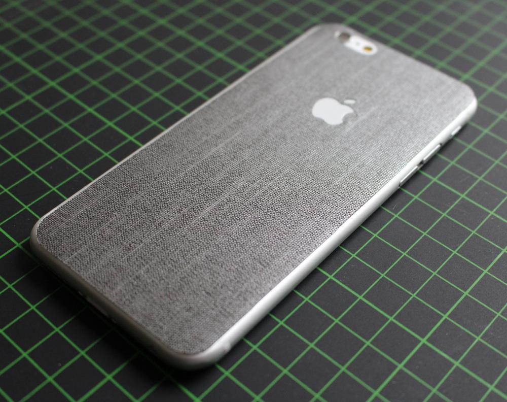 iPhone 6 / 6S / 6 Plus / 6S Plus Aufkleber / Sticker / Skin. 3D Aufkleber für die Rückseite. - Mithril
