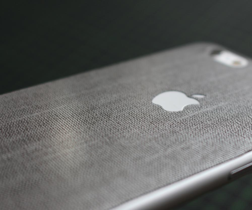 iPhone 6 / 6S / 6 Plus / 6S Plus / 7 Aufkleber / Sticker / Skin. 3D Aufkleber für die Rückseite. - Mithril