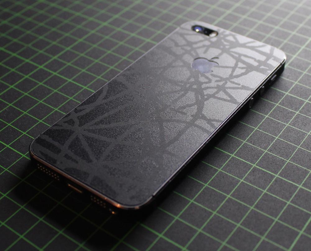 iPhone Aufkleber / Sticker 3D Struktur für iPhone 4/4S/5/5S - Orient Smartphone