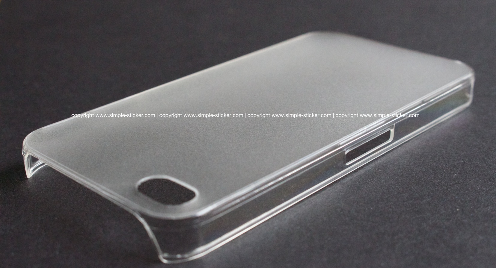 iPhone Case transparent, matt für iPhone 4/4S/5/5S - simple-sticker.com