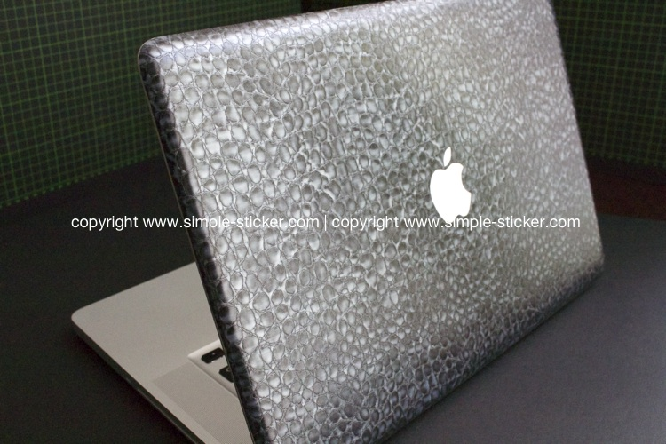 MacBook 3D Aufkleber / Decal - Alligator
