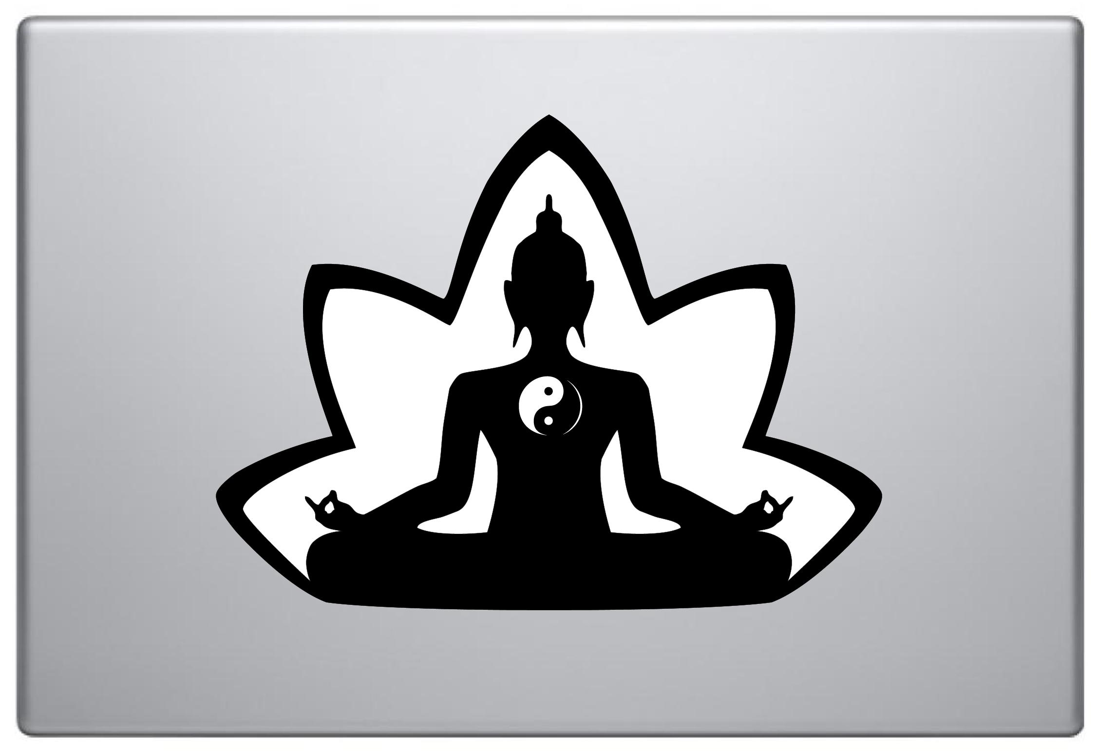 MacBook Aufkleber / Decal - Buddha