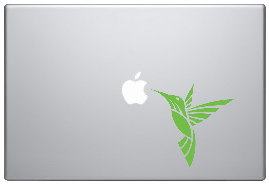 MacBook Aufkleber / Decal - Kolibri Nektar